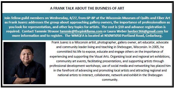 Frank Juarez Talk