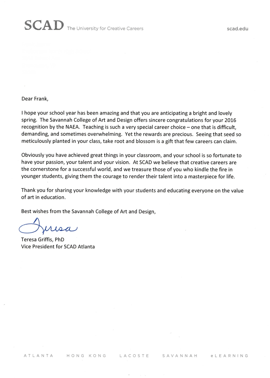 SCAD letter (1)